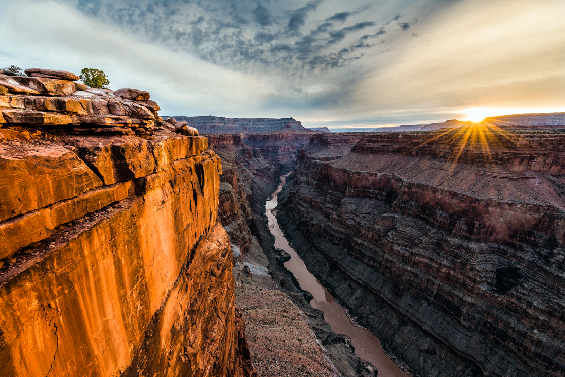 grand canyon toroweap sunrise