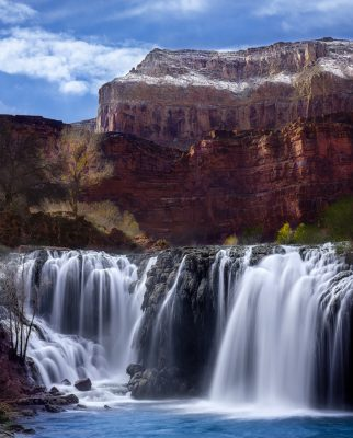havasupai waterfall arizona