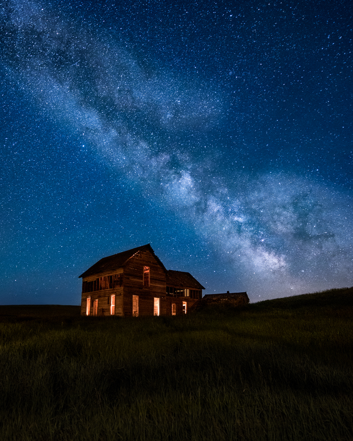 milky way palouse house