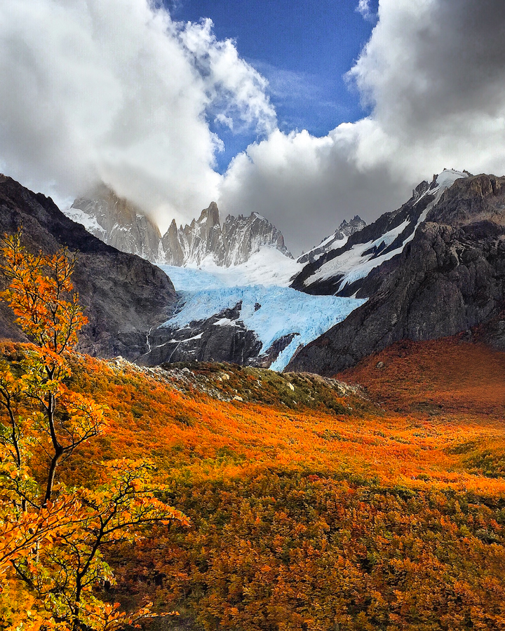 patagonia argentina fall autumn